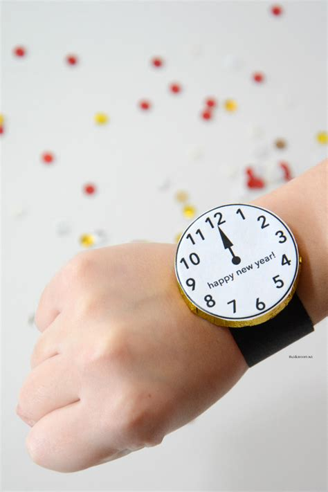 years eve kids activity candy watches  idea room