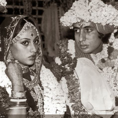 Celebrity Weddings: Amitabh and Jaya Bachchan Wedding Pics
