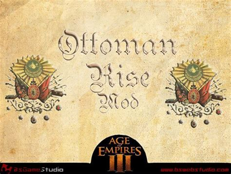 Rise Of Ottomans Rise Of Ottomans Rise Of The Ottomans Mod For Age Of Empires Iii Mod Db Ottoman Rise Image