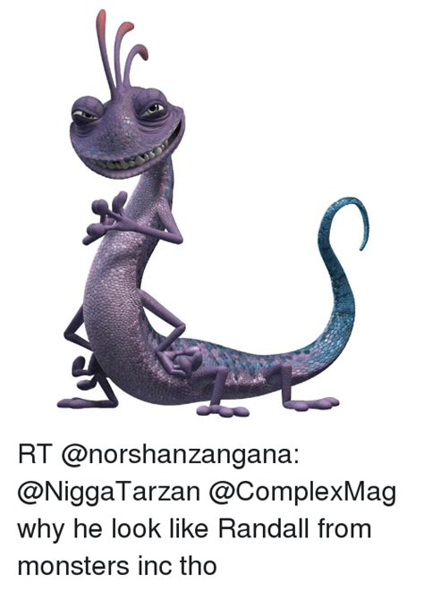 Randall Meme - rt why he look like randall from monsters inc tho