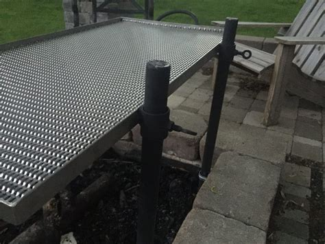 metal grate for pit stainless steel pit cooking grate jon pohlman