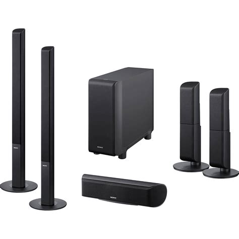 sony sa vsh  channel surround sound speaker system