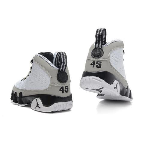 women jordan 9 c women air jordan 9 retro white grey black 302370 108