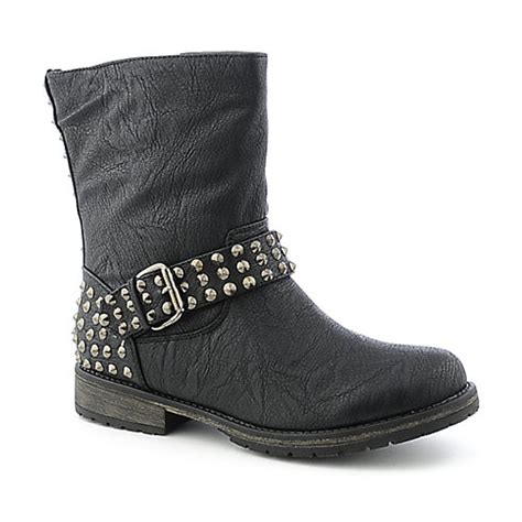 shiekh womens studded ankle boots rocker 12s womens