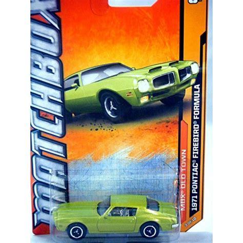 Firebird Formula Matchbox Mbx matchbox 1971 pontiac firebird formula global diecast direct
