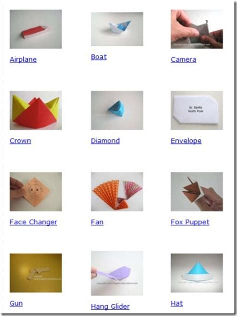 Origami Site - 5 free origami diagrams and websites