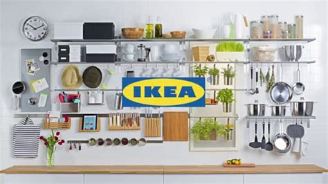 kitchen wall organization ideas ikea wall storage