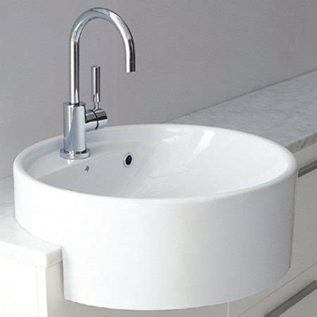 parisi bathroom twinset 425 semi recessed basin by parisi just bathroomware