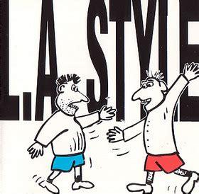 l a style album