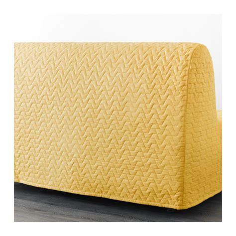 Lycksele Murbo Two Seat Sofa Bed Vallarum Yellow Ikea Ikea Lycksele Sofa Bed