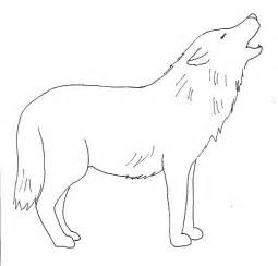 How To Draw A Wolf That Is Easy Easy Drawings Wolves Clipart Best
