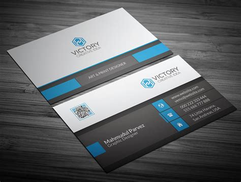 corporate business card designs templates 35 free visiting card design psd templates designyep