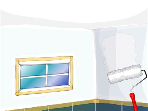 steps to painting a bathroom как покрасить ванную комнату