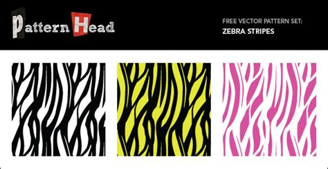 zebra pattern in photoshop zebra stripes free seamless vector patterns patternhead