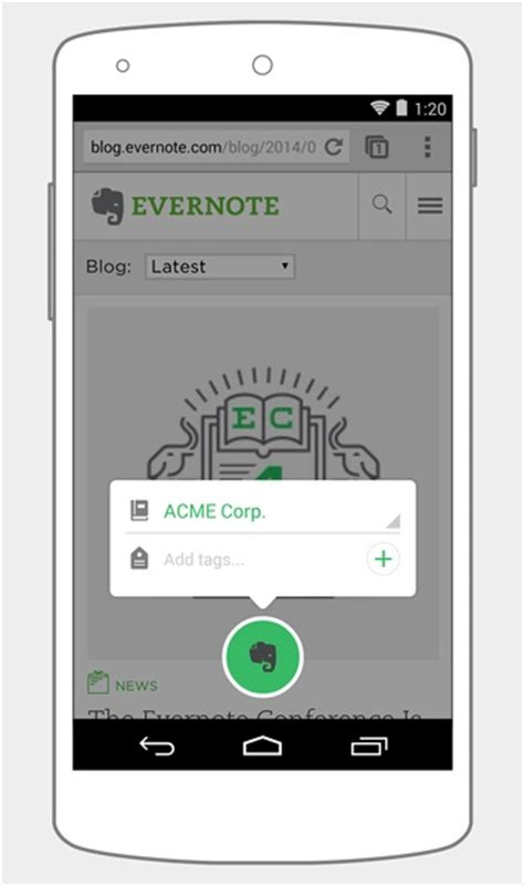 evernote android evernote for android updated with new note reved ui and more