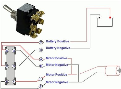 dpdt switch wiring diagram dpdt toggle switch wiring diagram how to wire a dpdt