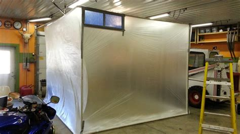 squirrel cage fan harbor freight diy paint booth