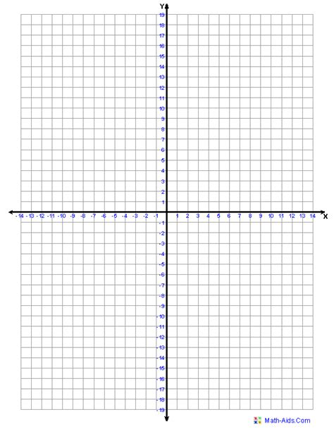 printable quadrant graphs graph paper printable math graph paper