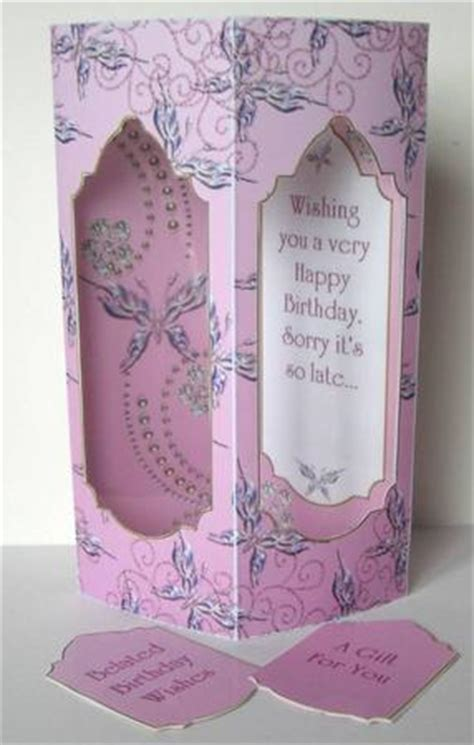 Handmade Belated Birthday Cards - belated birthday cards belated handmade cards