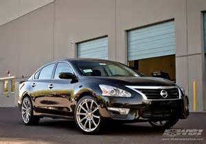 2013 Nissan Altima With Rims 2013 Nissan Altima With 20 Quot Gianelle Cuba 10 In Chrome