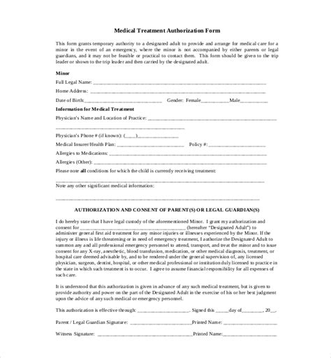 sle medical consent form 7 sle medical consent