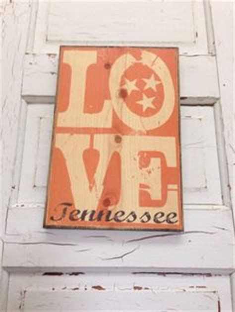 university of tennessee vols home decor by gdaykreations reclaimed barn wood sign solid oak state of tennessee