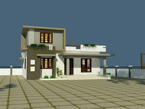 low budget modern 3 bedroom house design 1350 square feet 2 bedroom low budget modern home design
