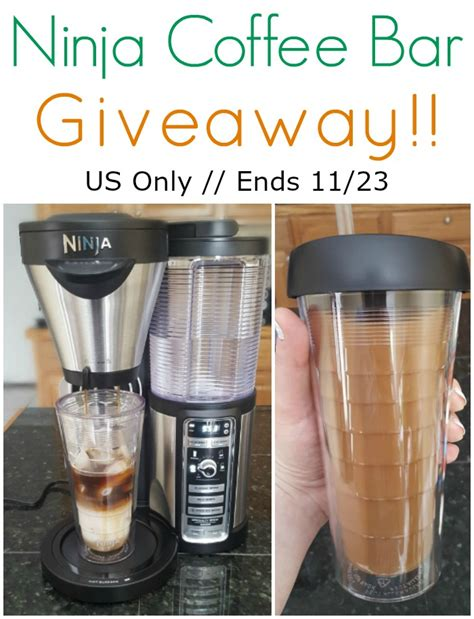 Coffee Giveaway - ninja coffee bar review giveaway
