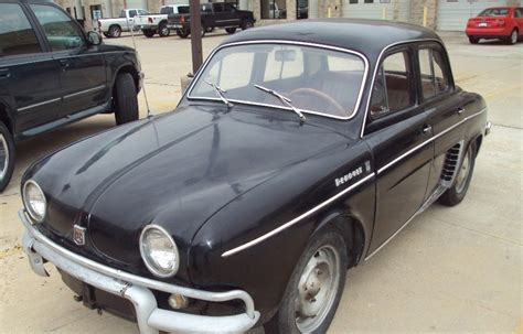 renault dauphine for sale just a car 1962 renault dauphine an easy restoration