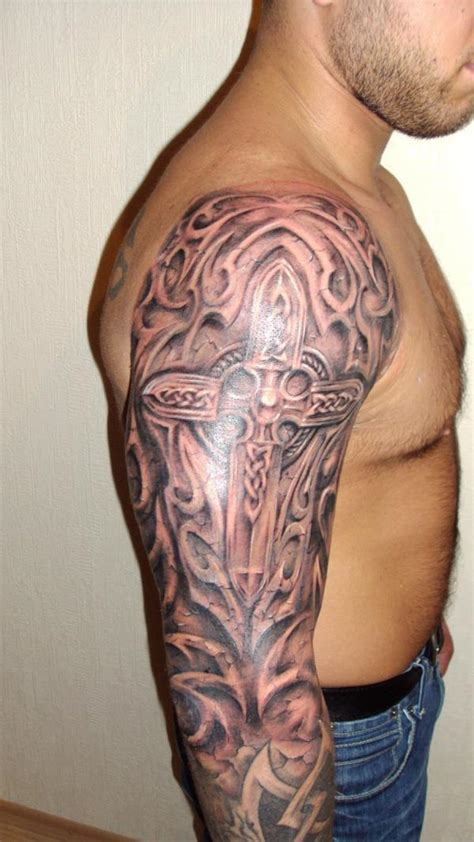 69 Cool Celtic Shoulder Tattoo Celtic Tribal Designs
