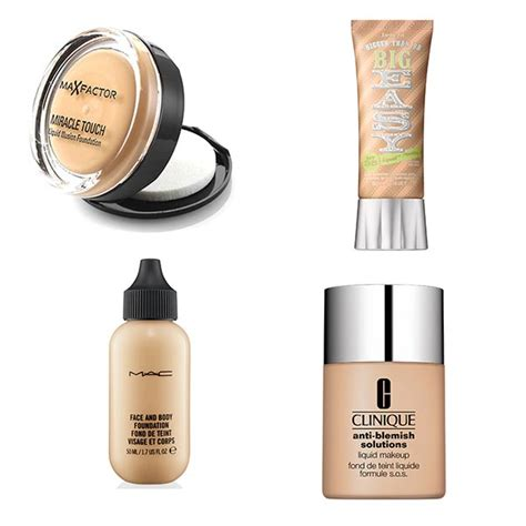Foundation Acnes The Best Foundations For Acne Prone Skin
