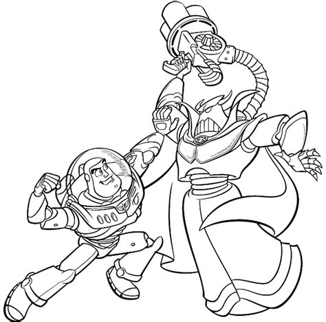 Zurg Coloring Pages evil emperor zurg coloring pages coloring pages