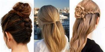 hair styles 41 diy cool easy hairstyles that real people can actually