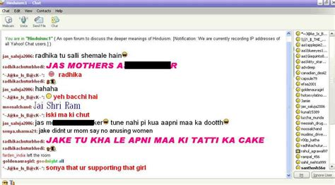 y chat room what happens in yahoo s hinduism chat room hindu