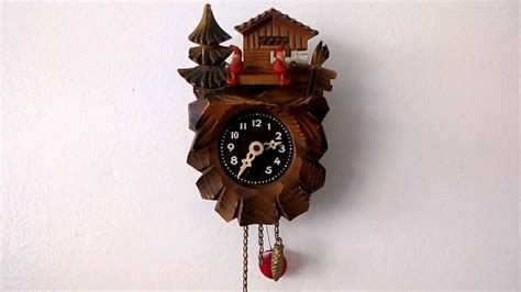 horloge a coucou horloge coucou miniature mini cuckoo clock