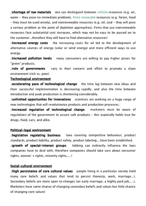 Advertising Management Notes For Mba by Marketing Management Notes Mba