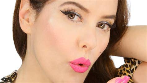 eyeliner tutorial lisa eldridge easy summertime pink makeup tutorial pin up inspired