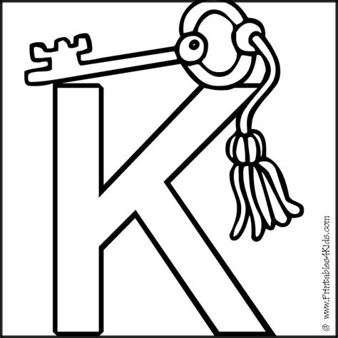 letter k coloring page free coloring pages of letter k