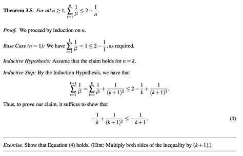 tutorial questions on mathematical induction discrete math induction proof for summation mathematics