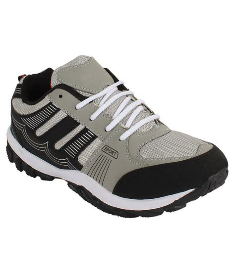 canvas sport shoes earton footwear gray canvas sport shoes price in india
