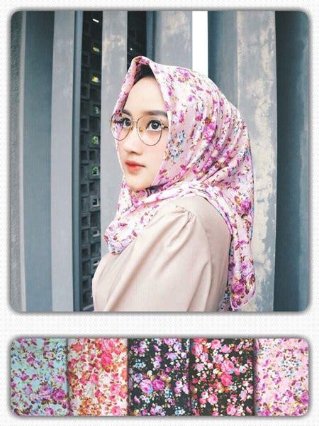 Segiempat Shabby Chic 10 Jilbab Segiempat Shabby Seri Zara 2 Model Terbaru