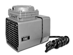 Gast Doa P504 Bn Doa Oilless Diaphragm Vacuum Untuk Lab doa p701 db doa series corrosion resistant