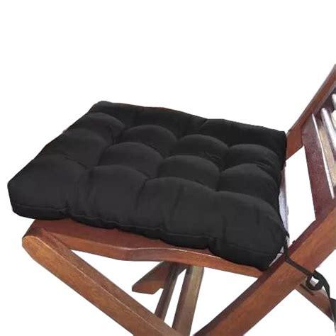 futon 40x40 assento para cadeira futon 40x40 cm preto