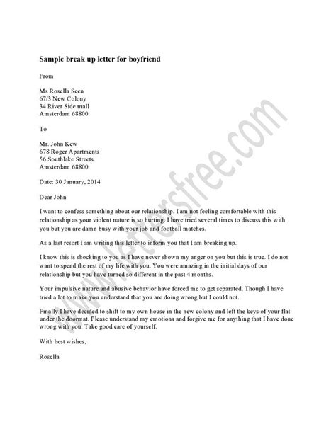 up letter for a boyfriend 1000 images about sle up letter on