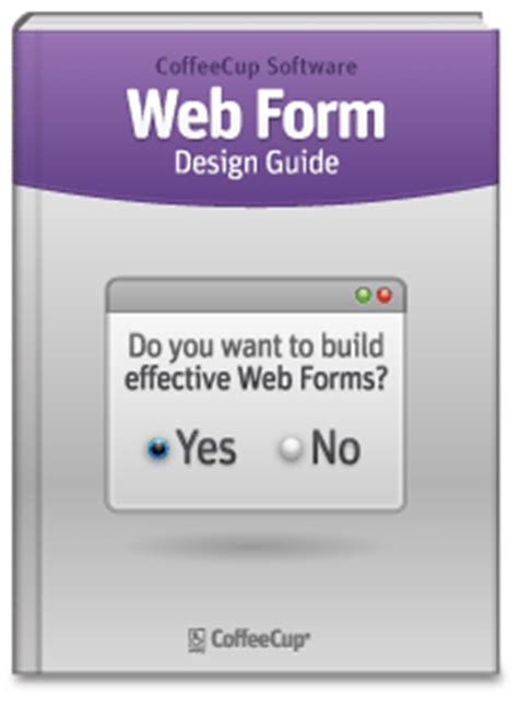 form design book web form design guide coffeecup software