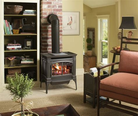 Lopi Gas Fireplace Reviews by Lopi Berkshire Greensmart Gas Stove Traditional