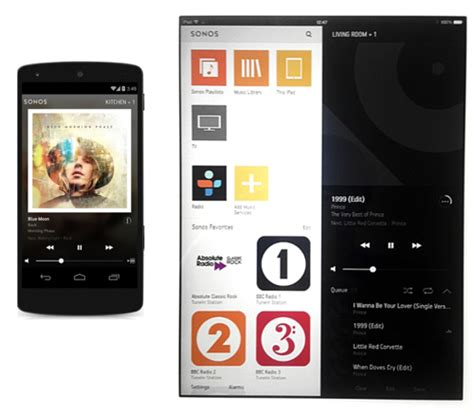 sonos controller for android sonos turns up volume slips out new wi fi speaker app the register