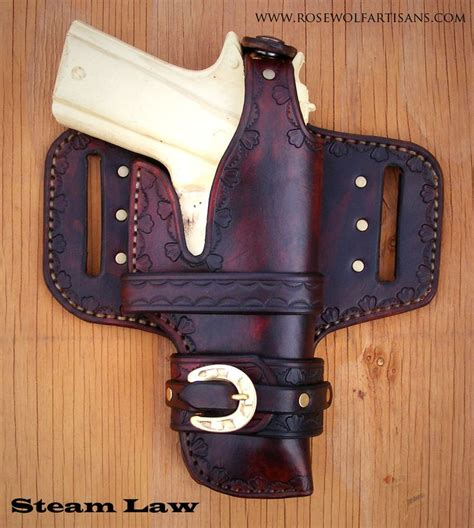 Handmade Gun Holsters - 20 best images about leather gun holsters on