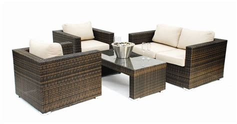 rattan sofa set rattan furniture hire rental garden outdoor