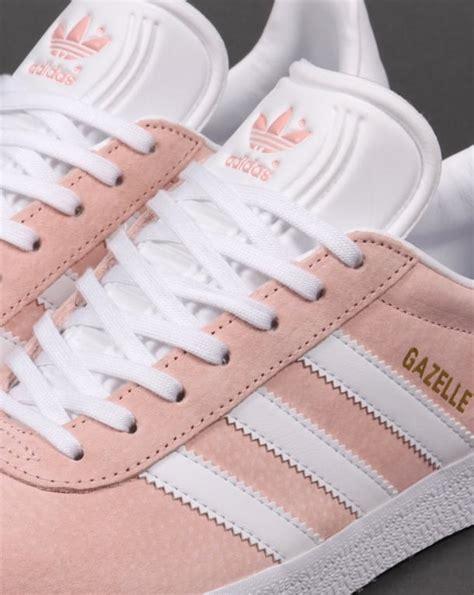 adidas gazelle trainers vapour pink white originals shoes mens sneaker